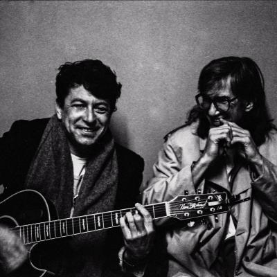 Joe Ely and Townes photo by Fabio Nosotti